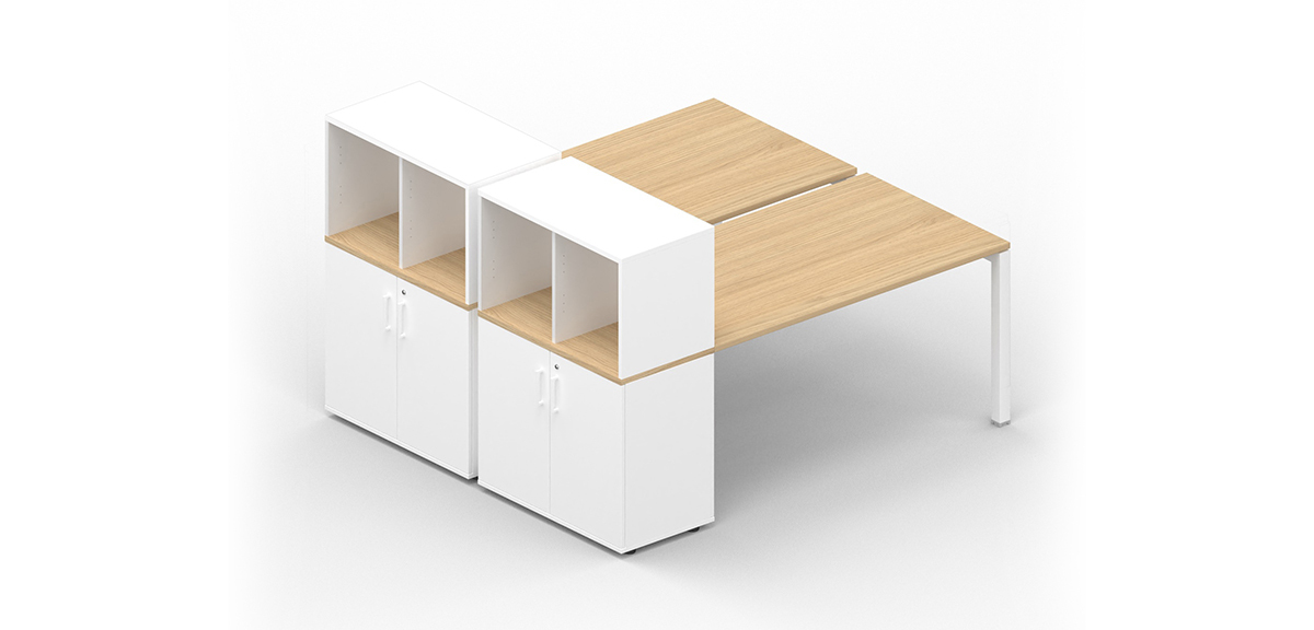 Bench with storage system