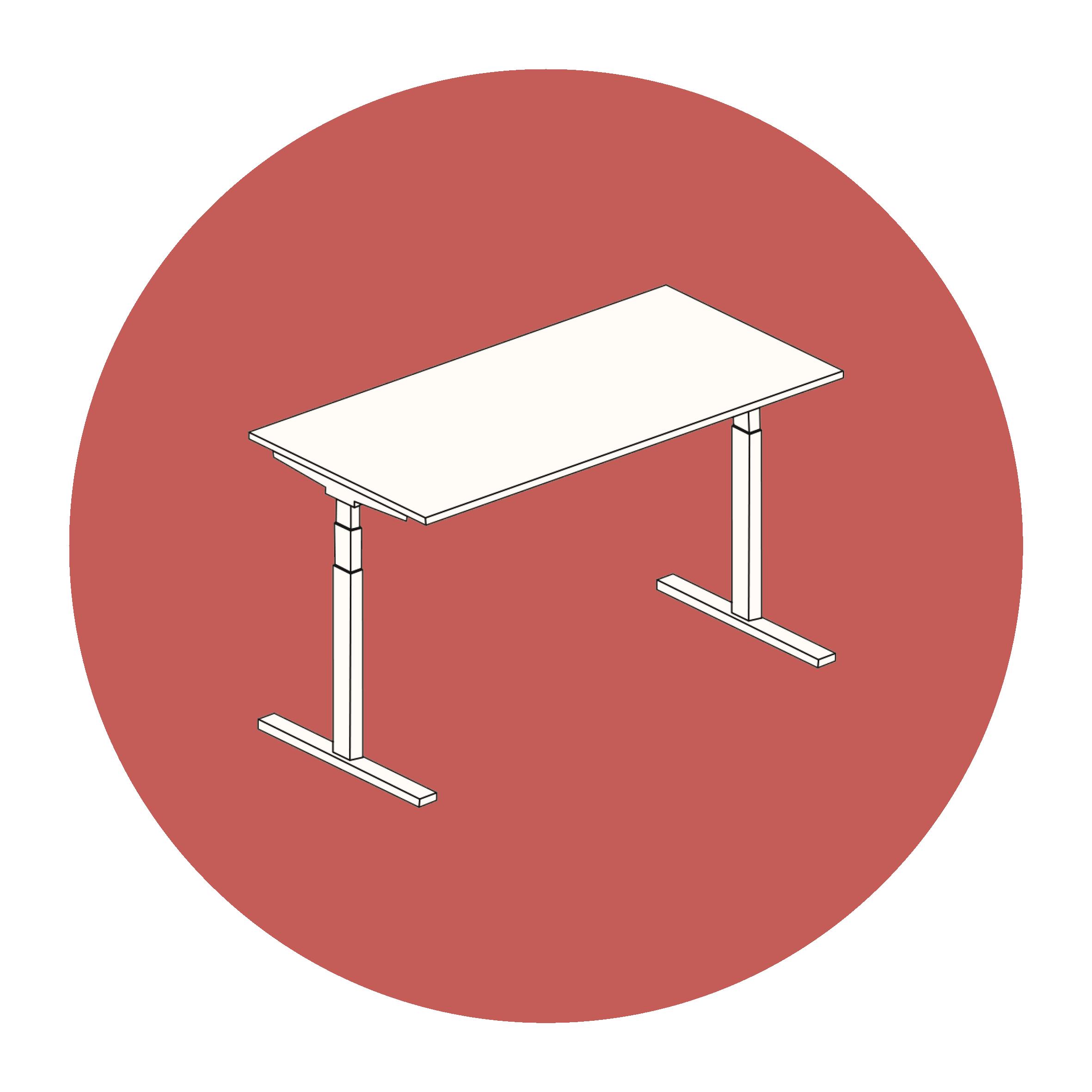 Sit-standing desks